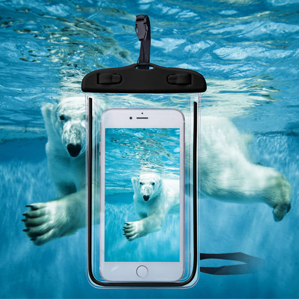Universal Cover Waterproof Phone Case For iPhone 7 6S Coque Pouch Waterproof Bag Case For Samsung Galaxy S8 Swim Waterproof Case