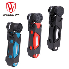 3 Colors Anti-cut Safety MTB Folding Professional Anti-theft Cycle Lock