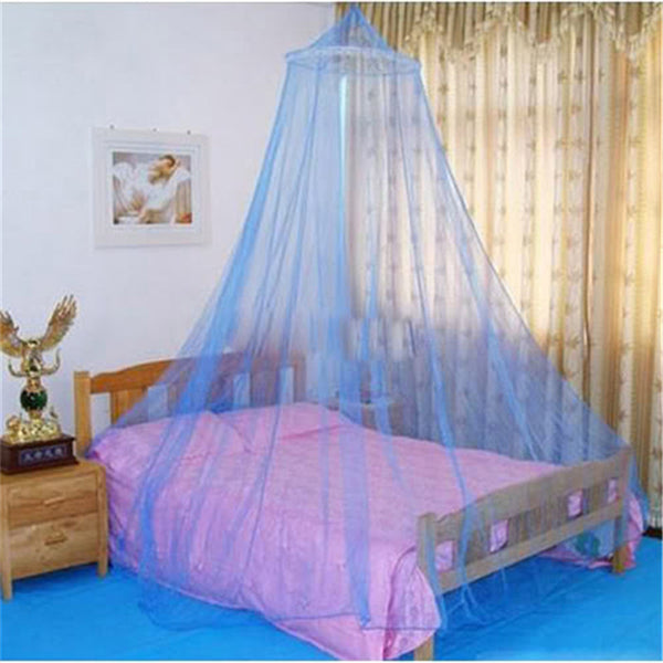 2016 Summer White Netting Round Lace Hung Dome Princess Bed Home Canopy For Adult Students Mosquito Net Mesh Bedding Net MN643