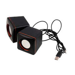 Mini Portable USB Audio Music Player Speaker for iPhone MP3 Laptop PC YKS