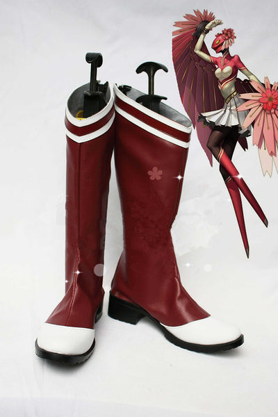 Persona  4 Cosplay Boots shoes Halloween shoes