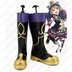 New lovelive Halloween awakening Cosplay Shoes LoveLive!Sunshine!! Ruby Kurosawa Anime Boots Tailor Made