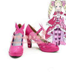 Free Shipping Re: Zero Beatrice Cosplay Shoes Halloween Japan Anime High-heel Shoes Custom-made