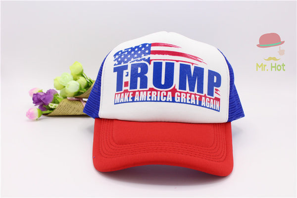 Donald Trump Make America Great Again Hat 2016 Republican Campaign Cap Political Patriot