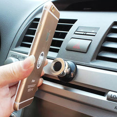 360 Rotary Universal Car Phone Holder Smartphone Magnetic Air Vent Mount Mobile Phone Stand Accessories for iPhone Car Holder