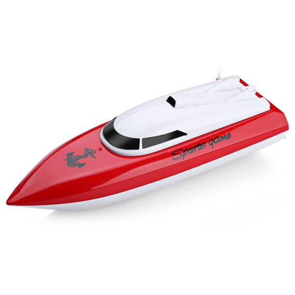 2017 New RC Boats Remote Control Yacht Model Ship Sailing Plastic Children Electric Toy High Speed Racing RC Boat Gifts Toys