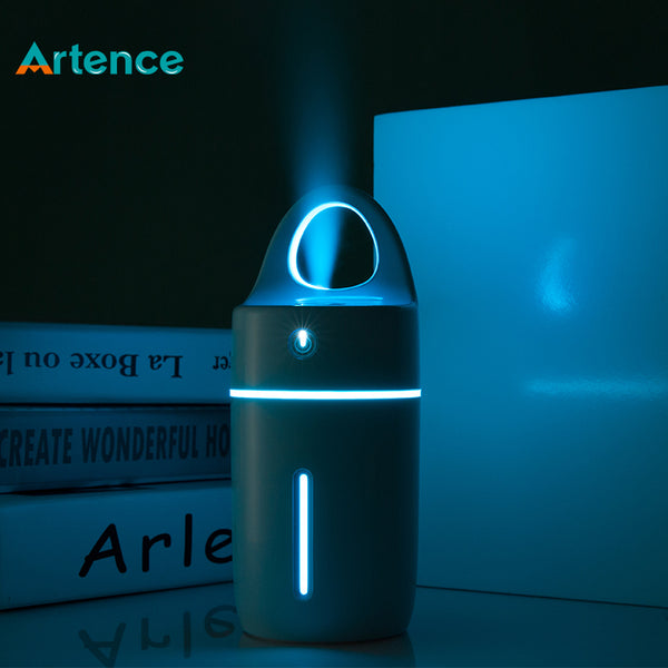 Magic Cup Ultrasonic Colorful LED Light Essential Oil Aroma Diffuser Purifier Auto Power-off Humidifier for Home Car Office
