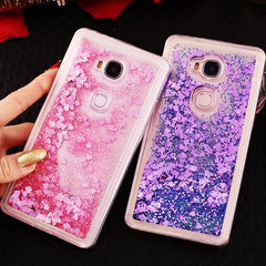 Cases For Huawei honor 6A Luxury Dynamic Liquid Glitter soft case on Honor6A 6 A DLI-AL10 phone Case For Huawei Honor 6C 6C pro