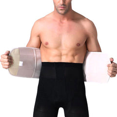 08749394bb FLYMALL Breathable Belt Shaper Slimming Modeling Mens Males Waist Trainer  Firm Loss Belly Strap Corset Body
