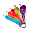 5pcs/lot  Colourworks Measuring Cup and Spoon Utensil Set Kit Tools for Kitchen Baking Decorations and Home Furnishing Products