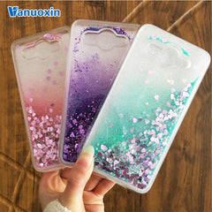 Y3(2017) phone cases For Huawei Y3 2017 case For coque Huawei Y3 2017 cover case Glitter Dynamic Liquid Soft TPU Back cover