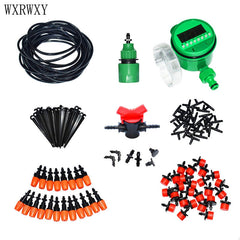 wxrwxy Automatic irrigation system watering kit Drip irrigation system gardening tool kit automatic garden watering 1 set
