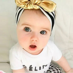 Baby Girls Hairbands Toddler Baby Bowknot Headwear Kids Turban Knot Headband Hair Accessories