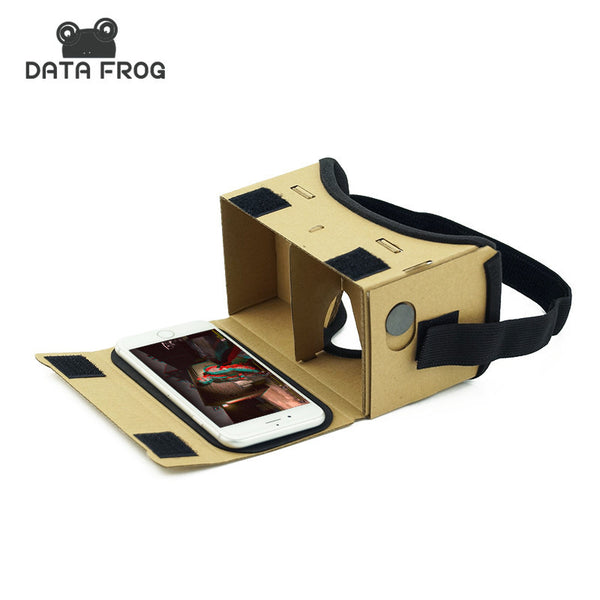 Virtual Reality Glasses Google Cardboard Oculus Rift Glasses 3D Glasses VR Box Movies for iPhone 5 6 7 SmartPhones VR Headset