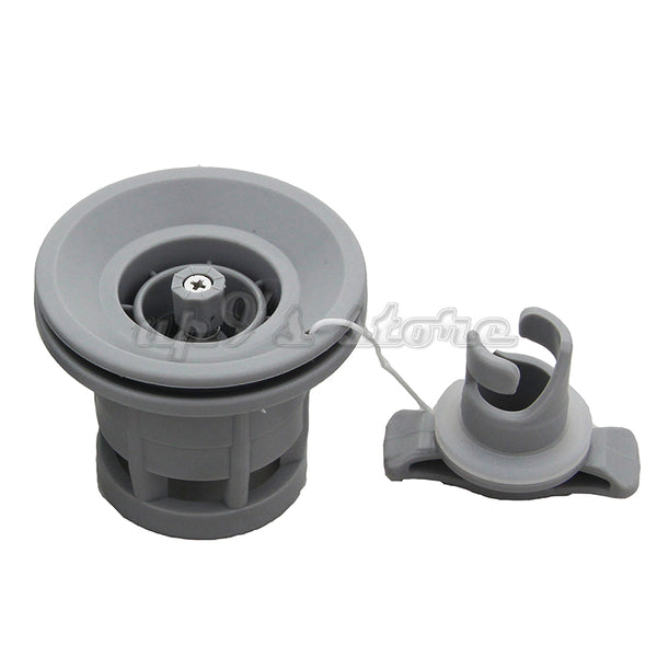 2pcs Double Seal Grey/Black H-R Air Valve For Inflatable Boat Raft Dinghy Kayak Canoe