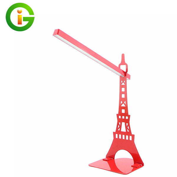 New arrive Eiffel tower led table lamp modern fashion decorative night light desk lamp for living room bed room