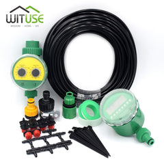 5m/10m/15m/20m/25m/30m Garden DIY Automatic Watering Micro Drip Irrigation System Garden Self Watering Kits + Adjustable Dripper