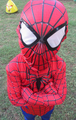 Halloween Spiderman Clothing Costumes for Children Kids Adult Halloween Cosplay Costume
