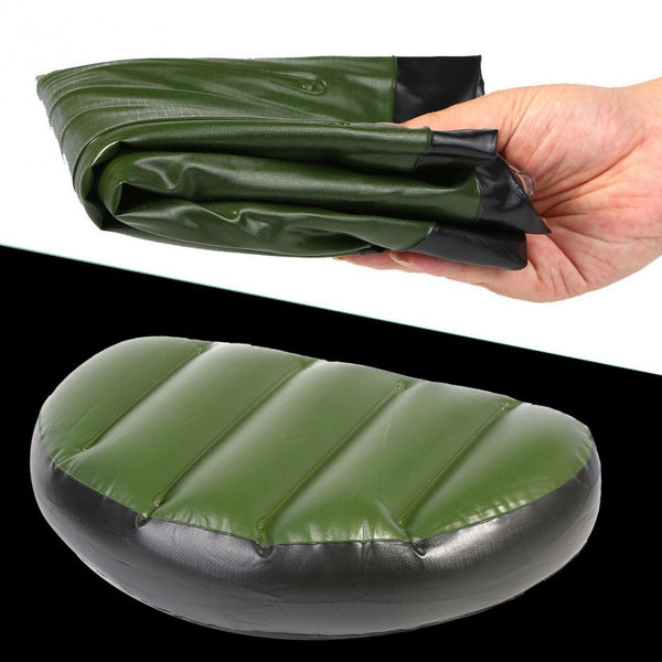 High Quality PVC inflatable air seat cushion mat Water Sport Boat Cushion Pad Water Skiing Drifting Canoe Kayak Boat Seat Pillow
