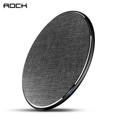 ROCK 10W Qi Wireless Charger for iPhone X/8 Fast wireless Phone charger for Samsung Galaxy S9/8 Note 9 charging pad