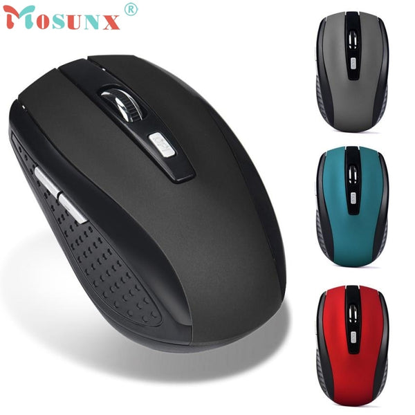 Mouse Raton 2.4GHz Wireless Gaming Mouse USB Receiver Pro Gamer For PC Laptop Desktop Computer Mouse Mice 18Aug2