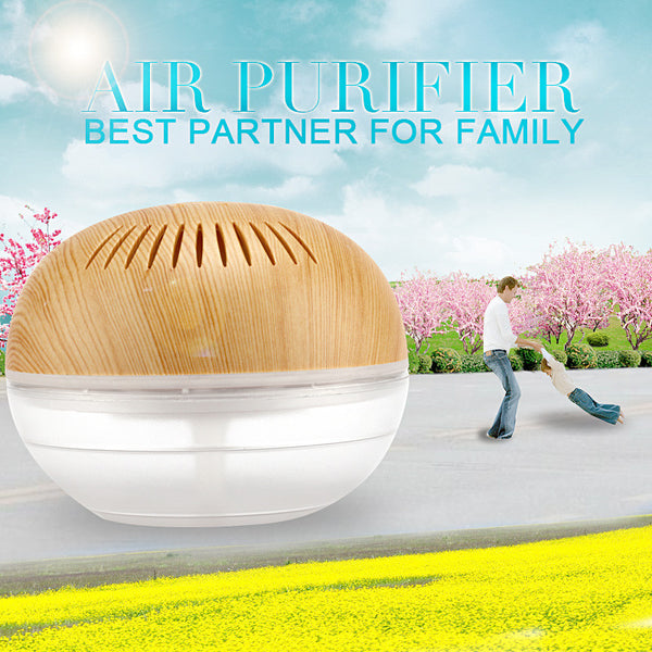 Purificador de ar 700ML Mini Portable Air Purifier Water Based Humidifier Aroma Air Purifiers For Home Air Cleaner KM-02LEWG