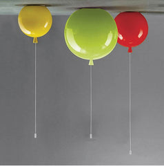 D25cm/ D30cm/D35CM Kid's Gifts Colorful Balloons Ceiling Lights Children Bedroom Interesting Ball Lighting  CD17