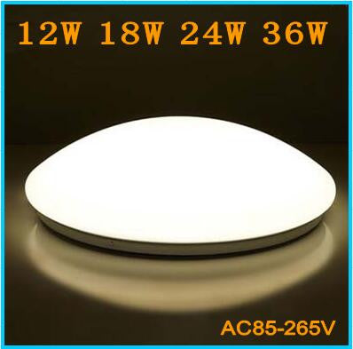 12w18w24w36w Ceiling Lights AC85-260V LED ceiling lamp Cool white/Warm White Sturdy and Durable Indoor Lighting Free Shipping