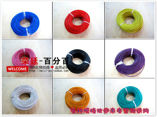 11 colors Rv 0.4mm Electrical Wires copper flexible cords electronic wire cable (85meters/roll)