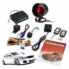 2017 Best Seller 1-Way Car Vehicle Protection Alarm Security System Keyless Entry Siren +2 Remote Free Shipping