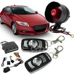 New Best Seller 1-Way Car Protection Car Vehicle Alarm Security System Entry Keyless Siren +2 Remote