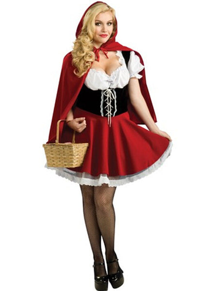 Halloween 2016 Costumes Sexy Cosplay Little Red Riding Hood Fantasy Game Uniforms Fancy Dress Outfit s m l xl 2xl 3xl 4xl