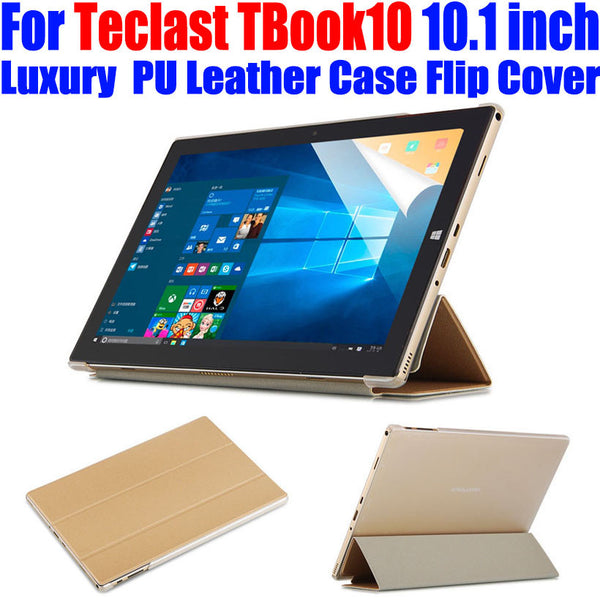 Original Case For Teclast TBook10 10.1 inch Luxury Crystal Back PU Leather Case Flip cover for Teclast TBook 10 tablet pc TL05