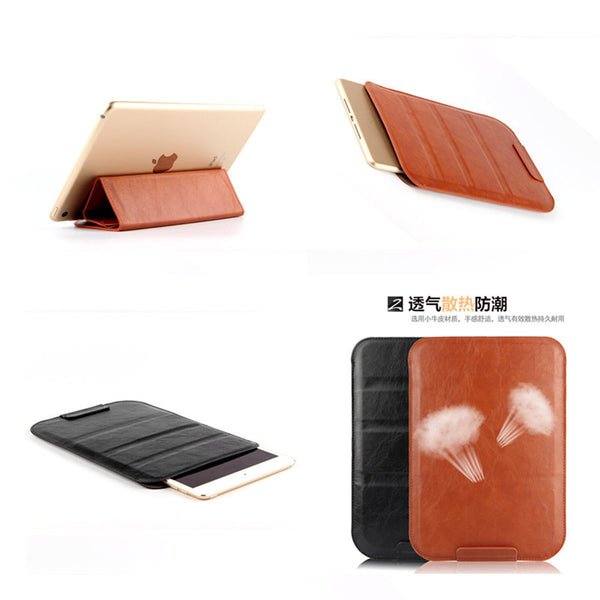 SD  Ultra Slim PU Leather Luxurious  Brand  Bag Sleeve for 10.1'' Tablet  Bag Case For asus T100  TF0310C K010 TF103C TF310C