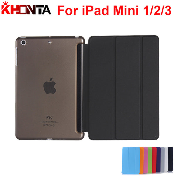 Fashion Designed Cases For Apple iPad Mini 3 Smart Cover For iPad Mini Retina 2 Leather Flip Case Stand in Good Quality New
