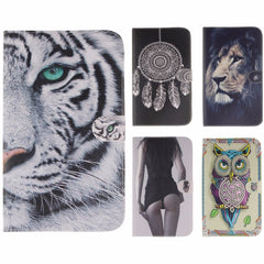 New animal Cartoon Case for Samsung Galaxy Tab 3 8.0 T310 T311 PU Leather Tablet Wallet style Stand Cases with card slot 8 inch