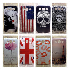 New Painted Hard PC Plastic Phone Case For Samsung Galaxy Win i8552 i8550 Shell Back Cover