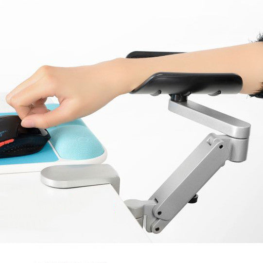 Ergonomic computer Table Arm Support Aluminum Alloy Mouse Pad Arm Wrist Rests Hand Shoulder Protect Pad Adjustable Height