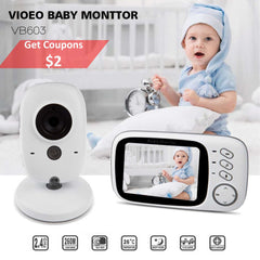 VB603 Baby Sleeping Monitor Baby Camera Monitor With Wireless  NightVison Camera Video Baby Monitor Radio Nanny 2 Way Audio Talk