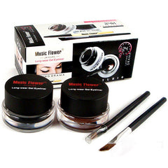 2015 Professional Black Waterproof Cosmetics Eye Liner Gel Eyeliner Pens Tool Set 51NA smt 101