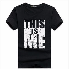Brand Clothing Men T-shirt Swag T-Shirt Men 95% Cotton Print Men T shirt Homme Fitness Camisetas Hip Hop tshirt Men