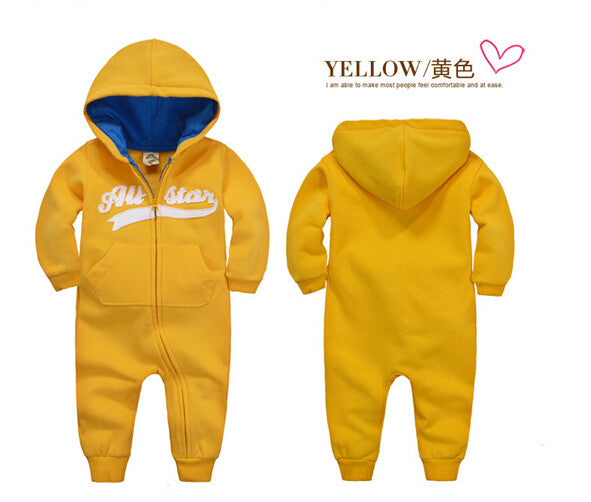2016 new spring Autumn Baby rompers Newborn Cotton tracksuit Clothes bebes Long Sleeve Underwear Infant Boys Girls jumpsuit