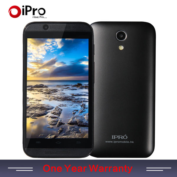 IPRO Original Russian 3G WCDMA Smartphone Android 4.4 Mobile Phone 4GB ROM Dual Core 4 Inch Cell Phones With Silver Black Cloor