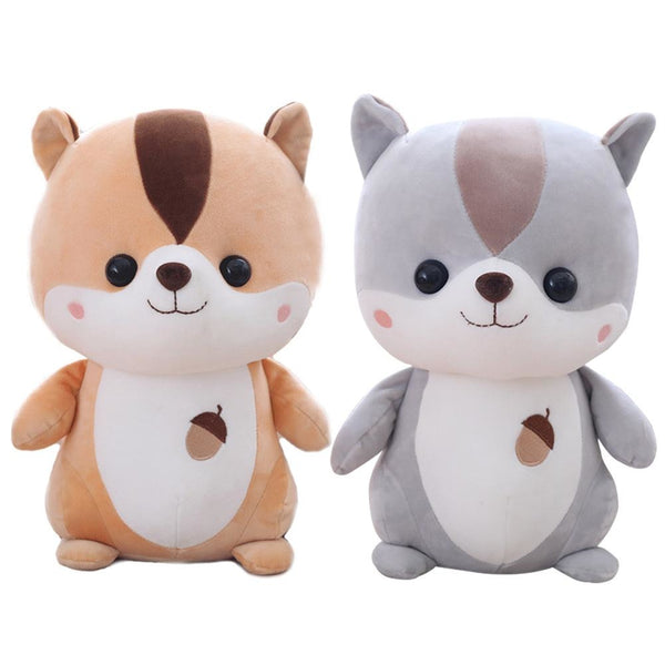Super Cute Squirrel Plush Toy Animal Doll Nice Christmas Gift For Children And Girls Ornaments 2018 Newest