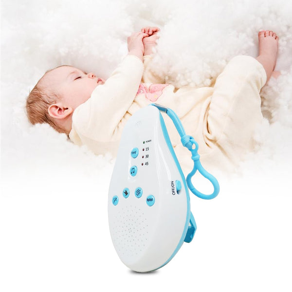Baby Sleep white noise machine Soothers Sound Record Voice Sensor with 8 Soothing Sound Auto-off Timer Baby monitor