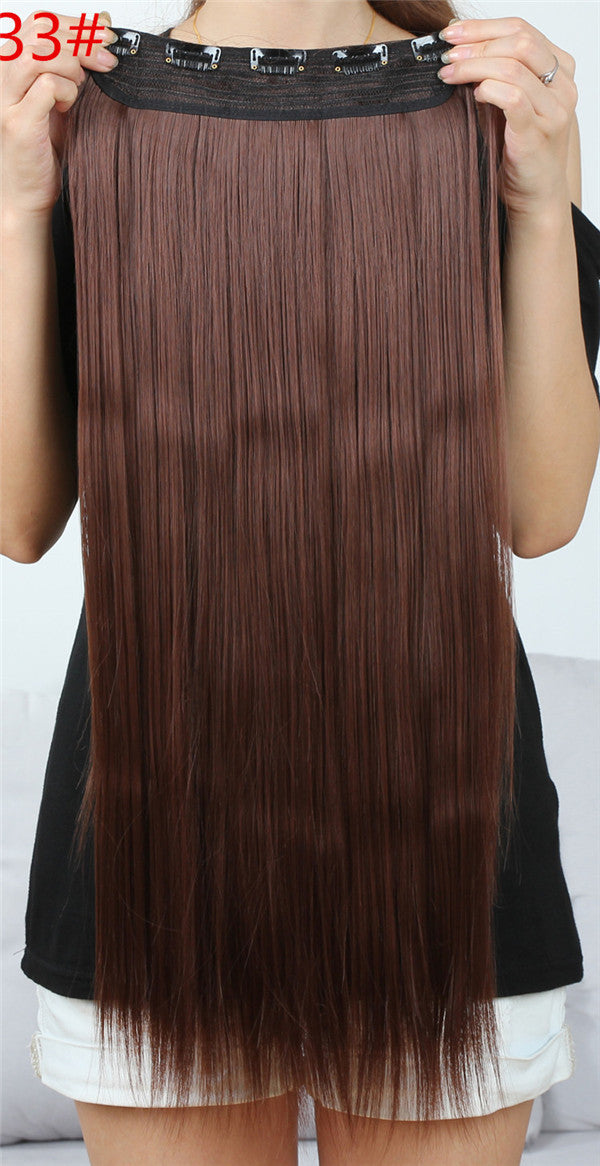 New Arrival 1pc Clip In Hair Extensions Synthetic Hair Extension One