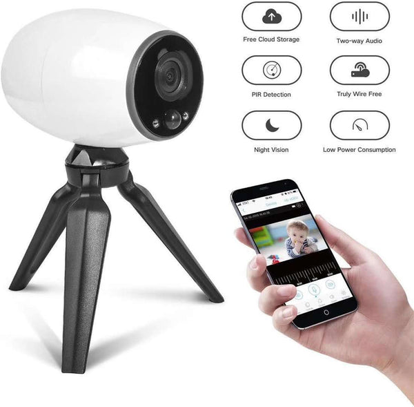 Cloud Storage Wireless WIFI IP Camera Portable Baby Monitor