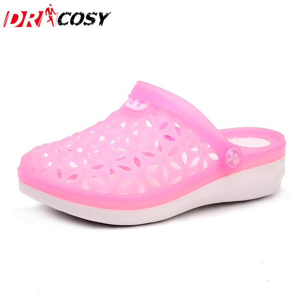 Summer Men'S & Women'S Hole Shoes Sandals Garden Shoes Breathable Comfortable Slippers Beach Fashion Clogs For Lovers Couples