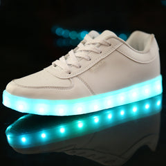 New 2017 Hot Sale DoGeek LED Fashion Light Up Chaussure Femme Casual Shoes for Adults