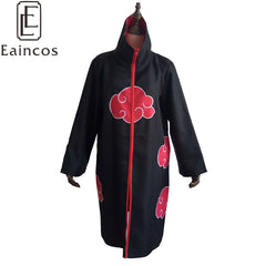 Hot Sale Anime Naruto Akatsuki/Uchiha Itachi Cosplay Halloween 2016 Party Costume